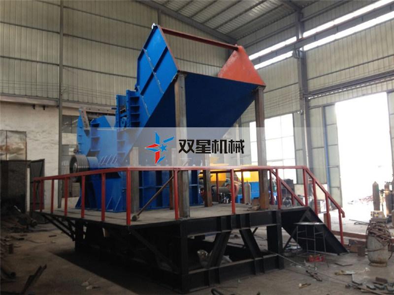 皓星金属破碎机设备产量一天100吨选择哪种型号