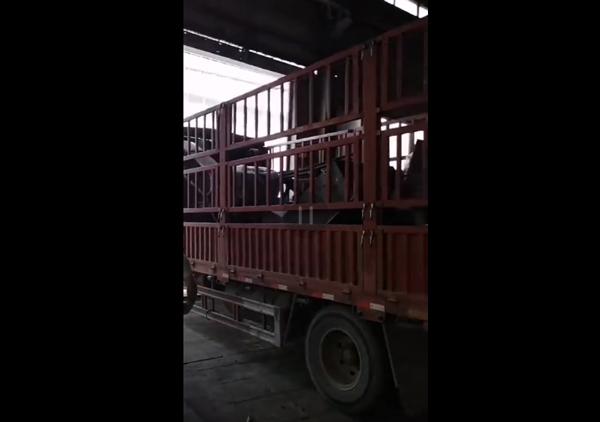废钢破碎机设备1200型发货视频