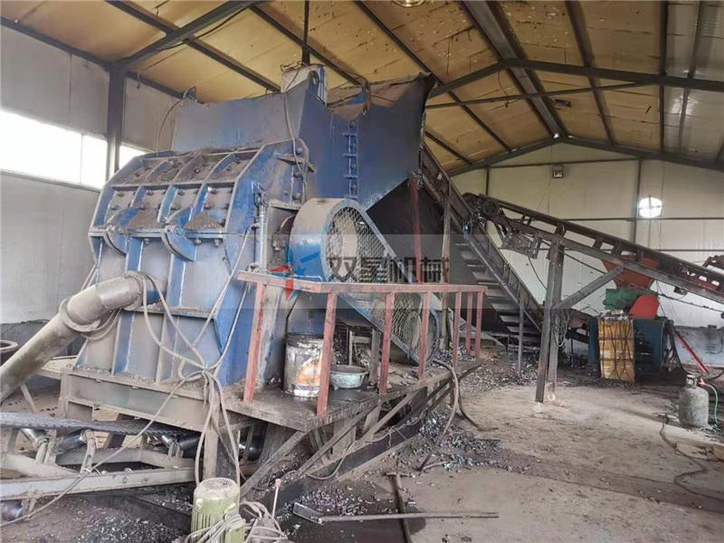 金属破碎机生产线中磁选机作用分析