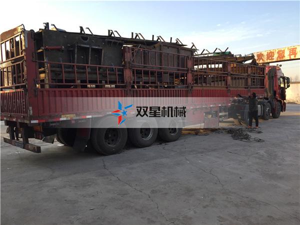 铝合金破碎机生产线设备发往安徽合肥