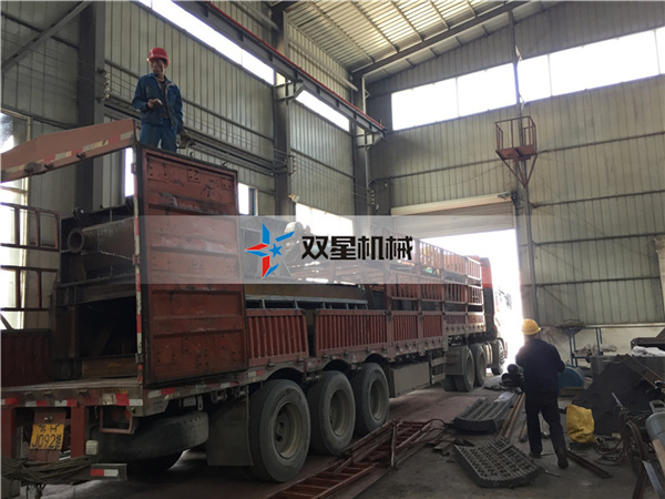 废铝破碎机生产线设备发往山西朔州