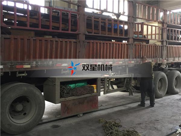 废铁破碎机生产线1200型发往湖南长沙