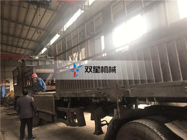 金属破碎机生产线1600型设备发往福建泉州