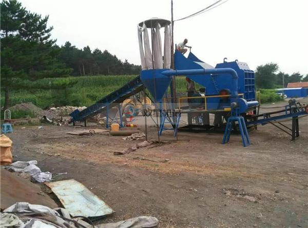 废铁破碎机设备在废铁收购站的应用