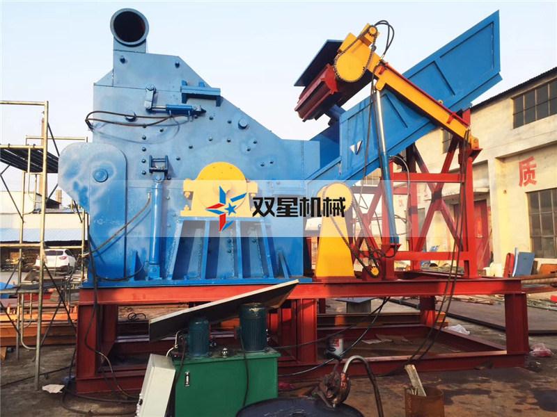 废铁破碎机设备出料不均匀原因分析