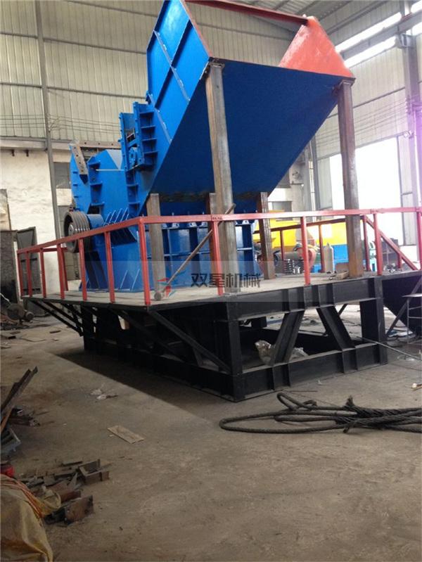 废钢破碎机生产线产量上不去原因分析