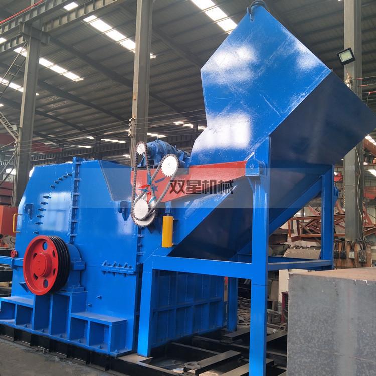金属粉碎机设备代替人工作业适用范围广