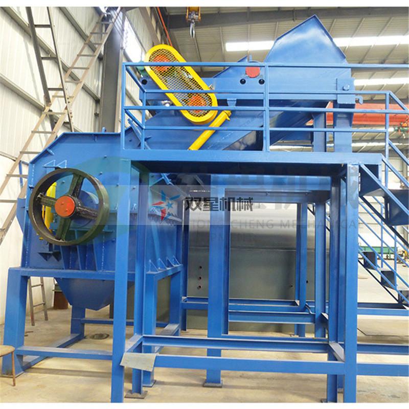 金属粉碎机设备根据出料判断筛板磨损程度
