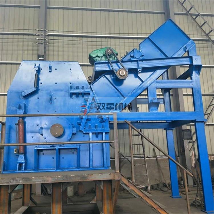 废钢破碎机配置涡电流分选机的作用