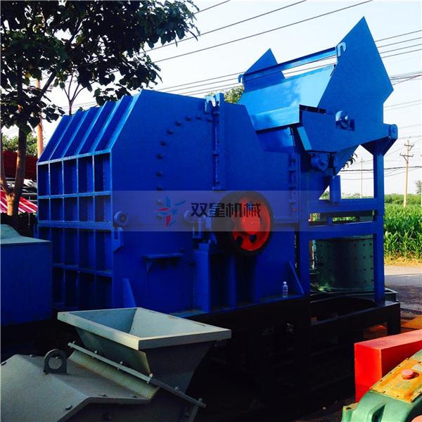 废钢破碎机设备如何做到生产零污染