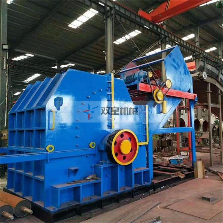 废钢破碎机成品粒度均匀为回收行业做贡献