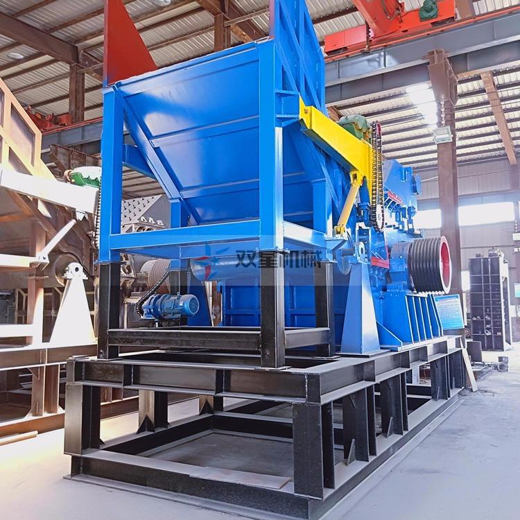 废钢破碎机设备锤头材质和物料性质分析