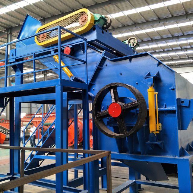 废钢破碎机生产线尾料如何进行分选