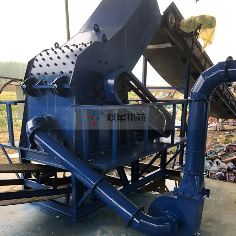金属破碎机生产线优点多生产市场成熟