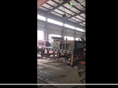 废铁破碎机PSJ-1600型设备发货视频
