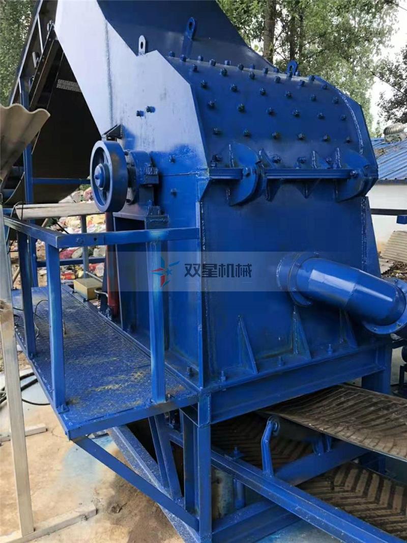 废钢破碎机设备中给料机起到了什么作用