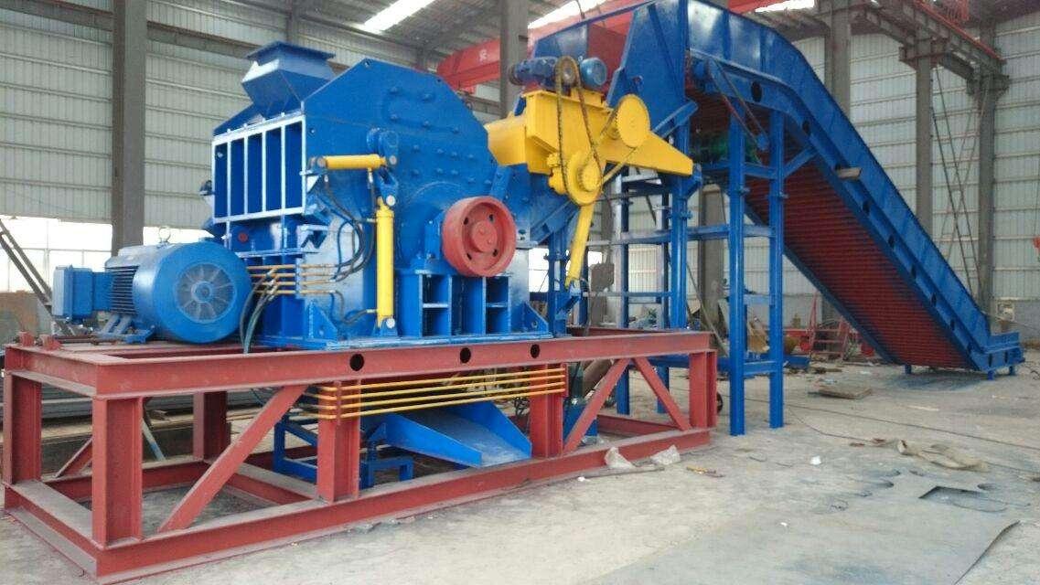 废铝破碎机的场地具体安装过程安排及注意事项