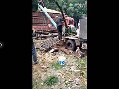 树枝粉碎机设备云南客户现场视频