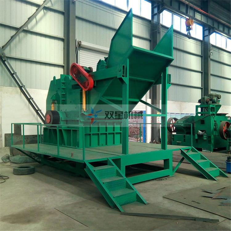 废钢破碎机设备生产线工作流程是怎么样的?