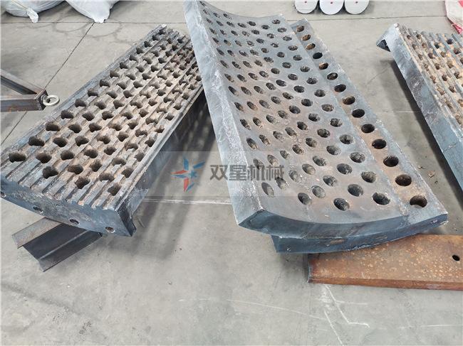 浙江废钢破碎机反击衬板结构实拍