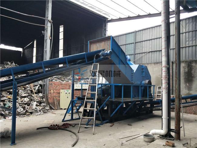 废钢破碎机针对废旧金属处理,巴黎人提供完善的技术支持