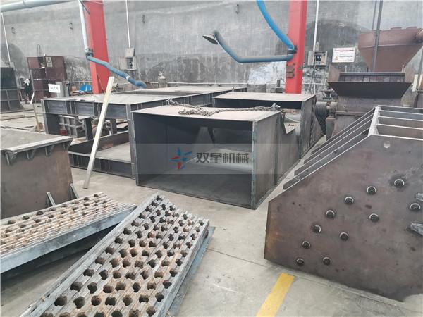 废钢破碎机厂家设备生产现场