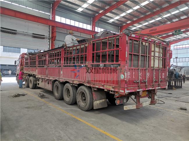 浙江废钢破碎机视频1600型发货现场