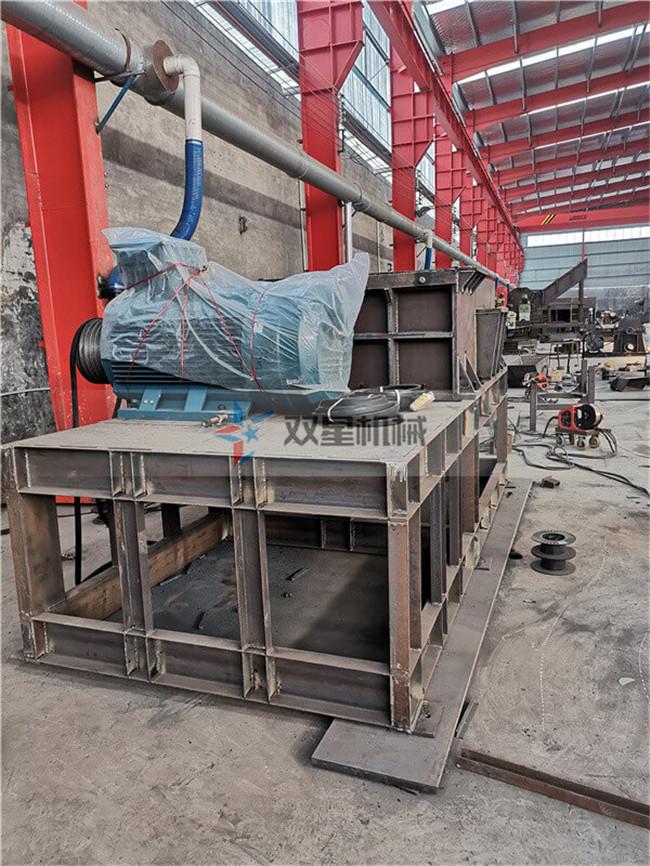 废钢破碎机高效除锈,提高废旧金属利用率