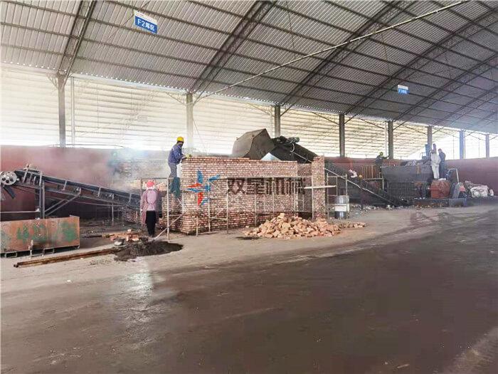 断桥铝破碎机生产线上海客户现场实拍