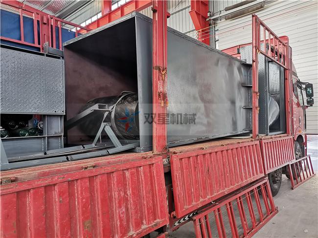 生铝破碎机1200型发货现场拍摄