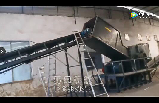 断桥铝破碎机生产线|断桥铝破碎分选客户生产现场