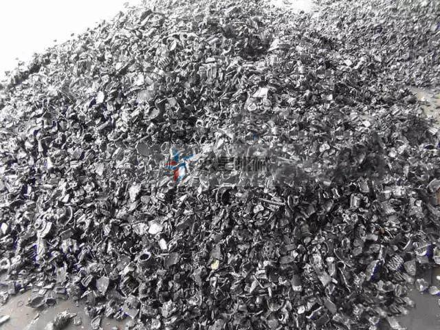 废铝破碎后形成的废铝颗粒