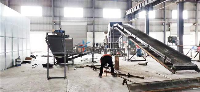 生铝破碎机生产线