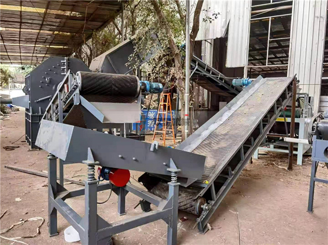 熟铝破碎机生产线