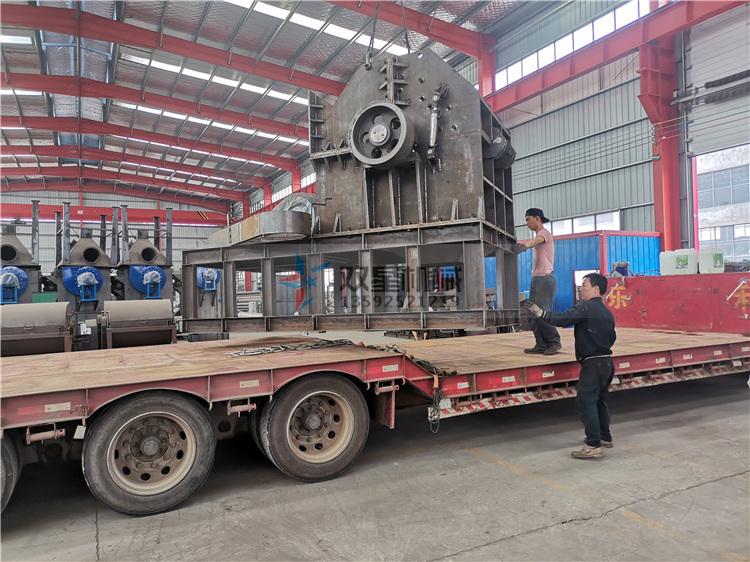 1200金属破碎机设备发往江苏张家港