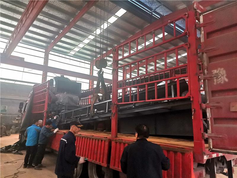 废铝破碎机设备1300型发货现场拍摄