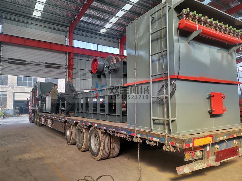 1600型铝合金破碎机厂家设备发货到四川