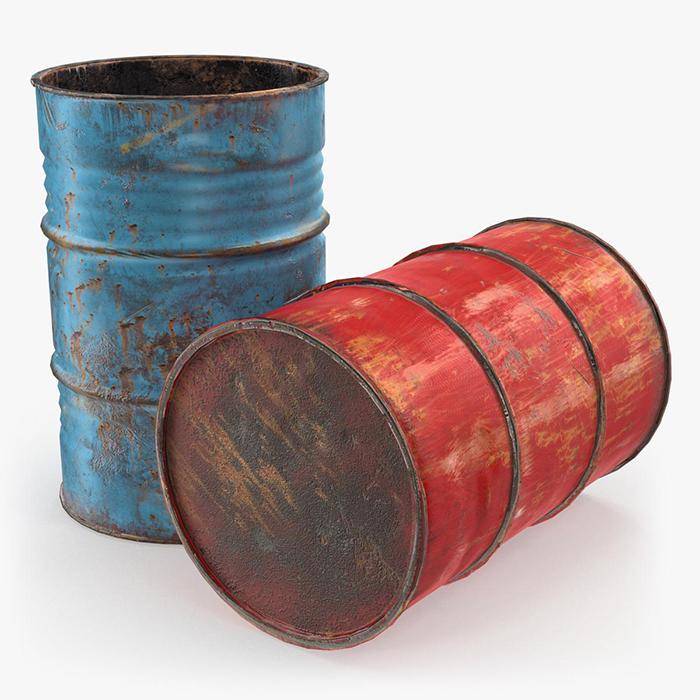 废油桶油漆桶破碎处理